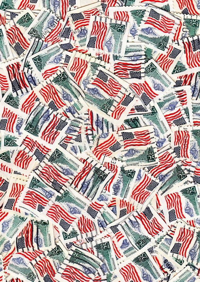 USA-Markierungsfahnen stockfotografie