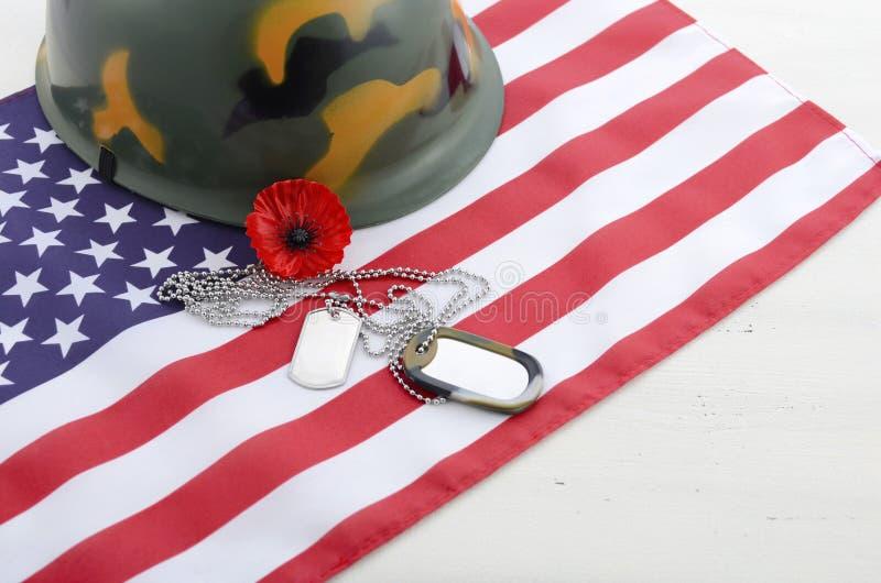 USA Memorial Day begrepp royaltyfria bilder