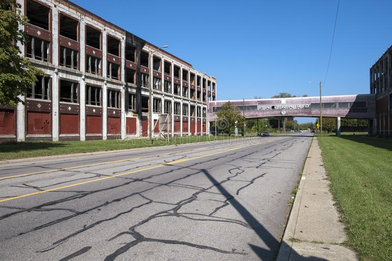 USA - Michigan - Detroit stock photography