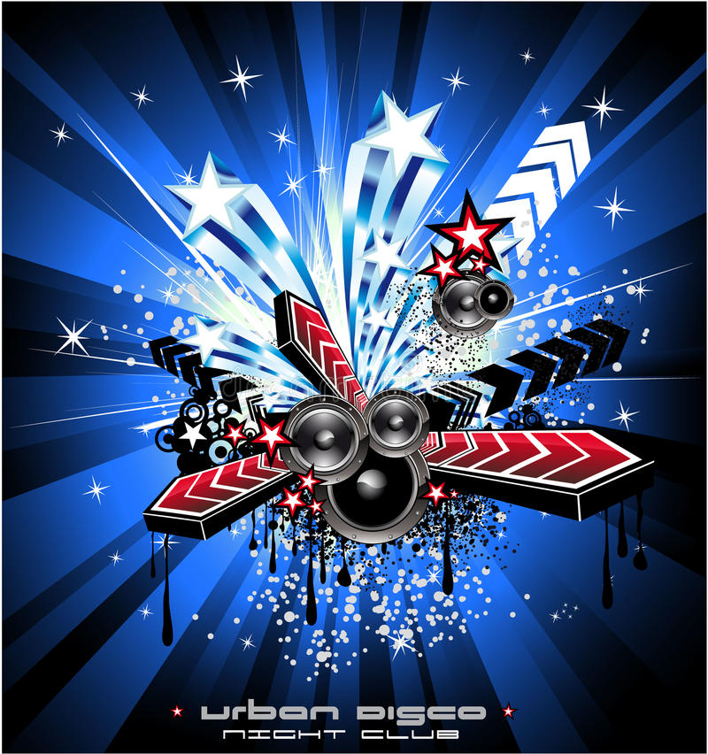Download Usa Music Event Background stock vector. Image of event - 10905454