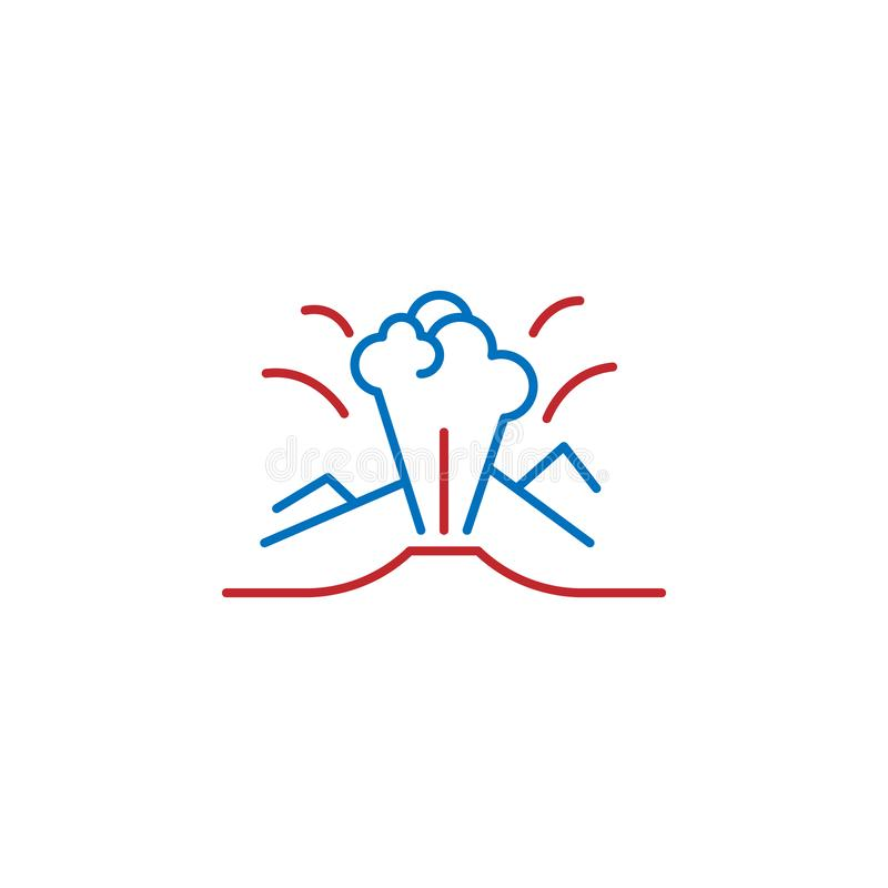 USA, national park icon. Element of USA culture icon. Thin line icon for website design and development, app development. Premium. Icon on white background stock illustration