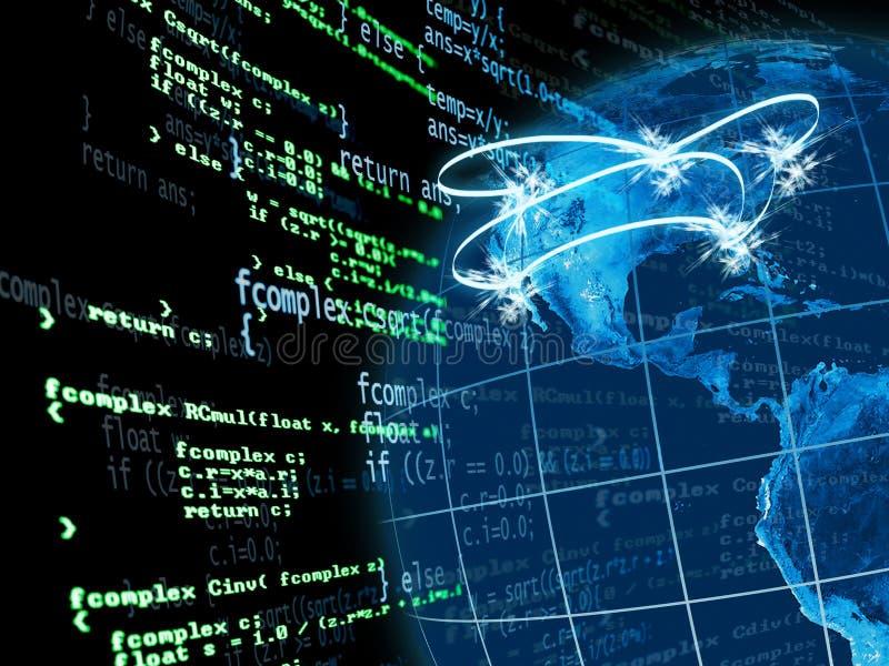 USA networking vector illustration