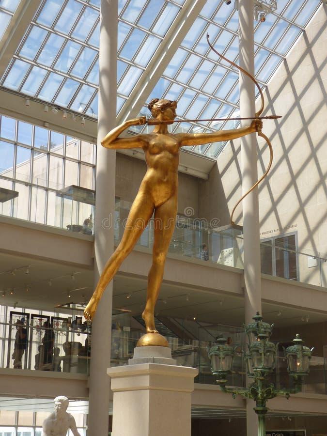 USA New York Storstads- konstmuseum arkivfoto