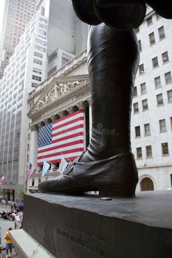 USA, New York, Wallstreet, Stock Exchange Editorial Photography