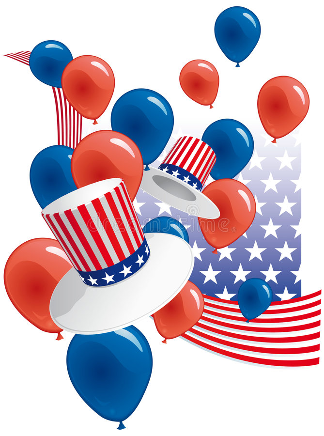 Free USA Party Royalty Free Stock Photos - 8713848
