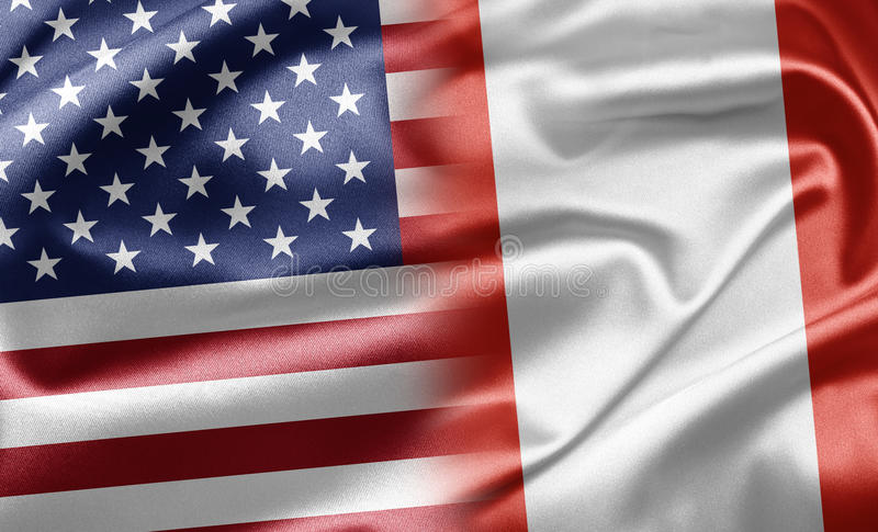 USA And Peru Royalty Free Stock Images