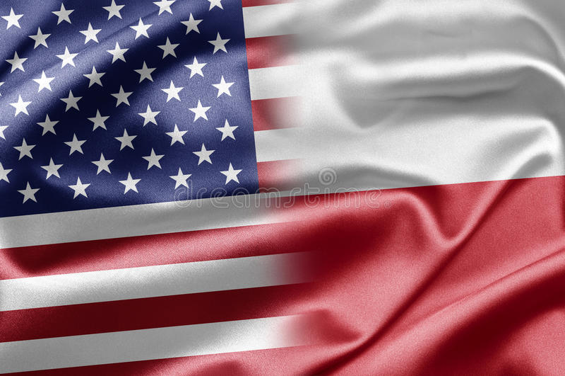 Download USA and Poland stock illustration. Image of partnership - 28585097