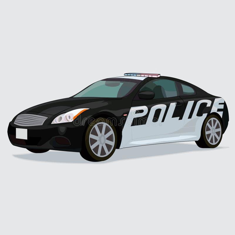 usa police car stock vector illustration of united protection 40483771. Black Bedroom Furniture Sets. Home Design Ideas