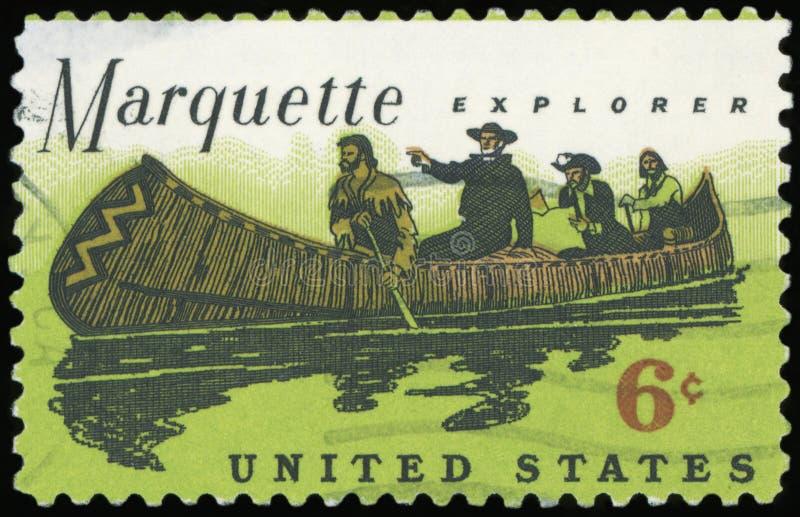 USA-portostämpel arkivfoton