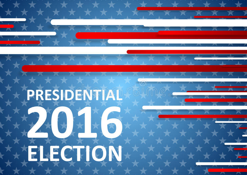 Usa Presidential Election  Brochure Template Stock Vector