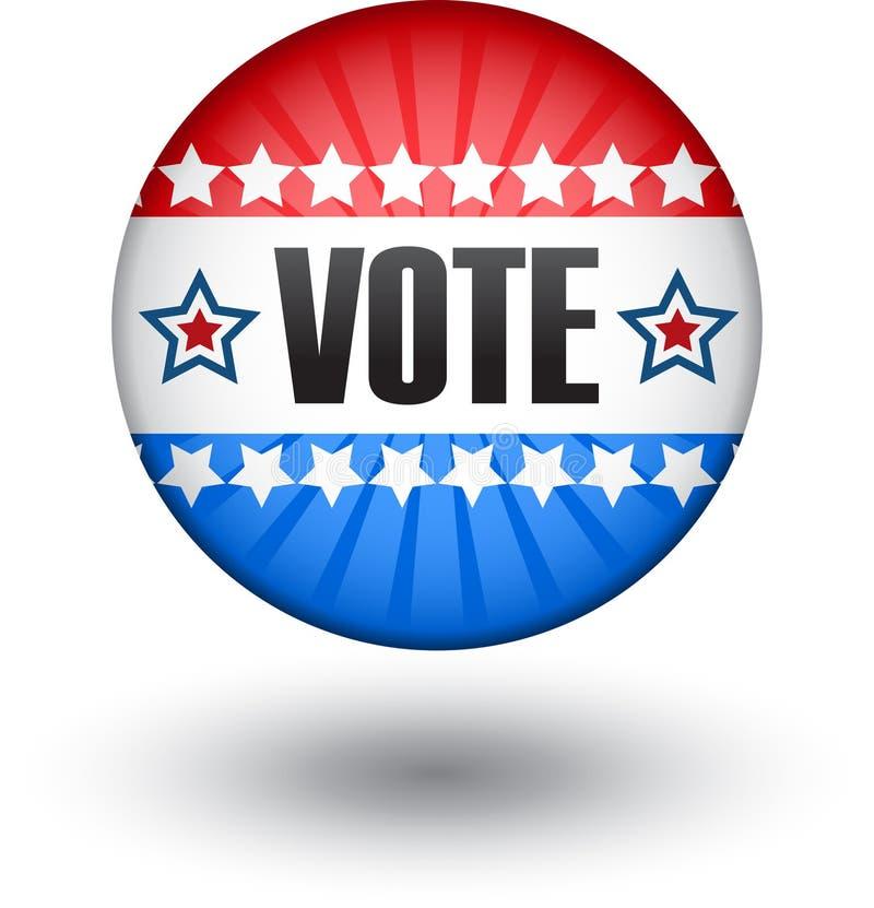 USA röstar undertecknar vektor illustrationer
