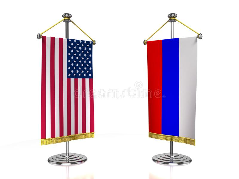 Download USA Russia meeting stock illustration. Image of discussion - 23118939