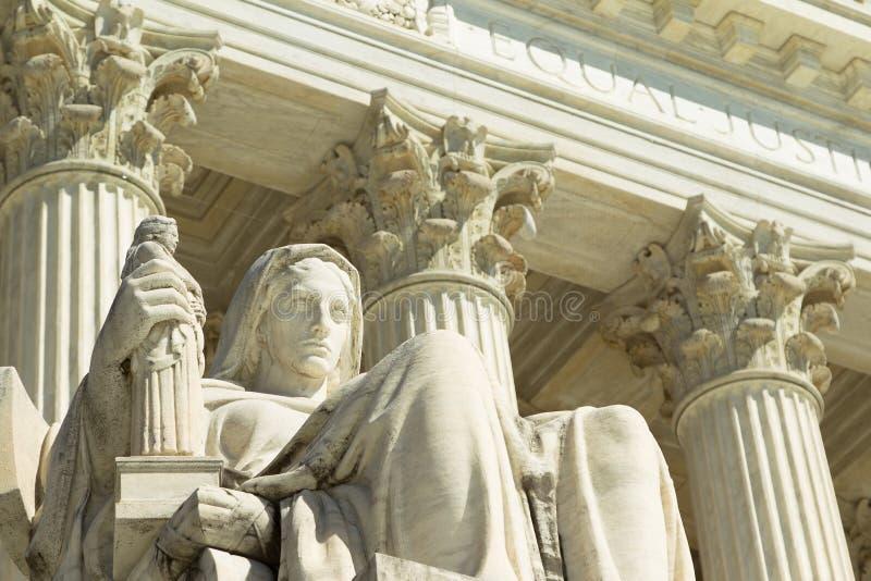 USA sąd najwyższy, obraz stock