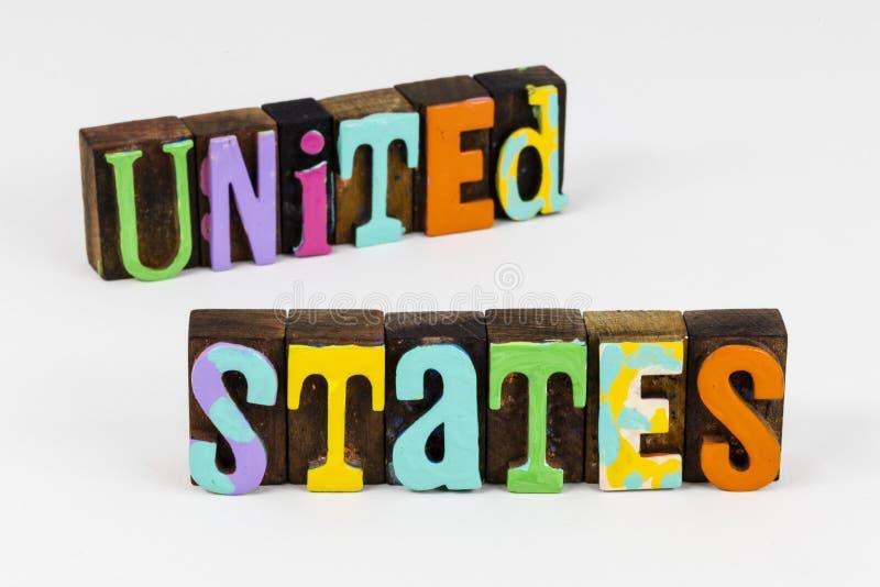 USA USA: s patriotism tror på royaltyfri fotografi
