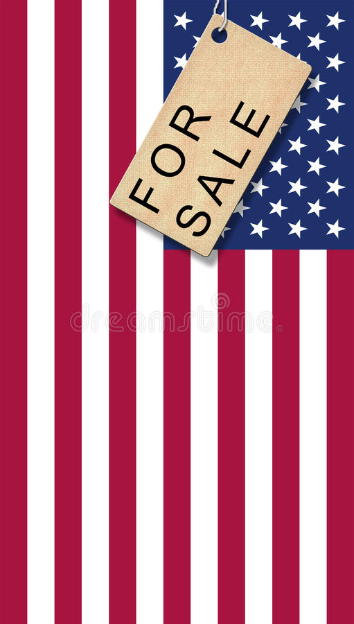 Download USA for Sale stock illustration. Image of financel, flag - 26487822