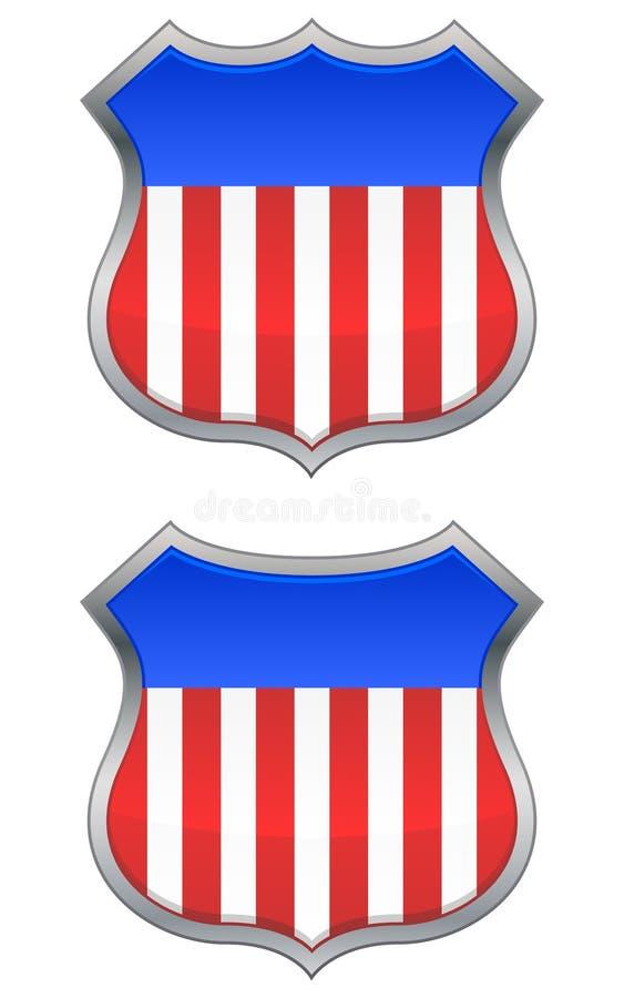 USA-Schilder stock abbildung
