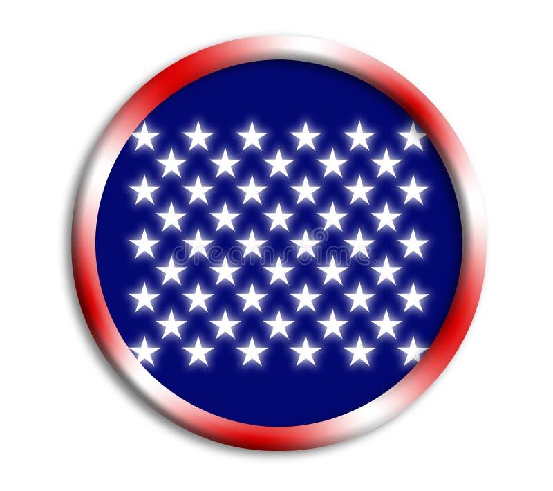 USA Shield For Olympics Royalty Free Stock Photos