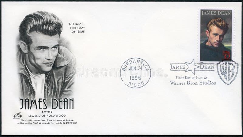 USA - 1996: shows James Dean 1931-1955, actor stock photos