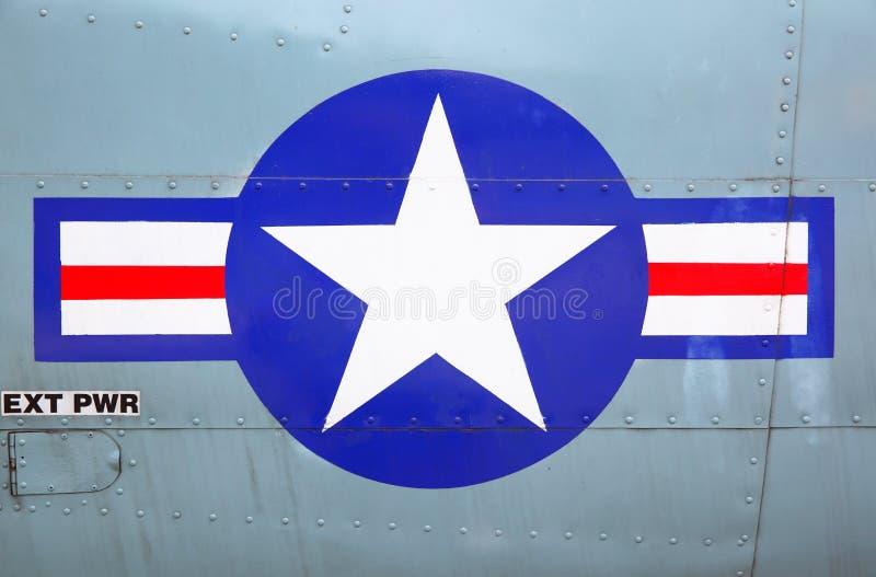 USA siły powietrzne fotografia royalty free