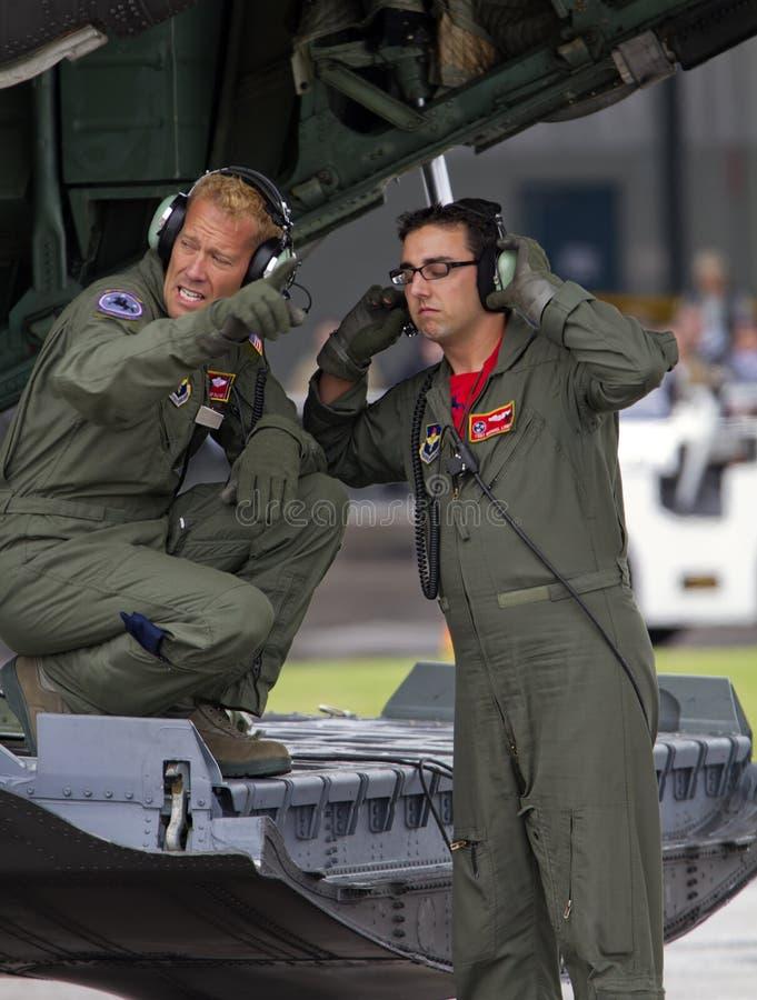 USA siły powietrzne Tennessee lotnictwa gwardii narodowej załoga zdjęcia royalty free