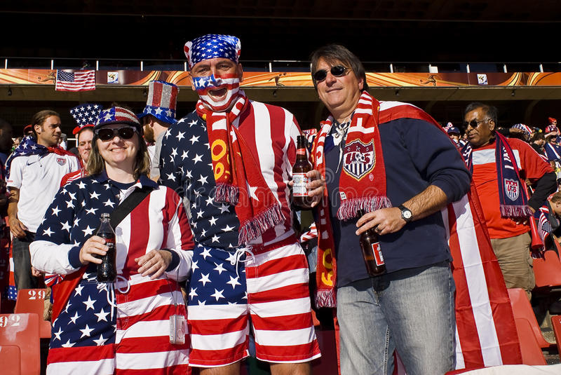 Download USA Soccer Supporters - FIFA WC Editorial Photo - Image of group, dress: 14844666