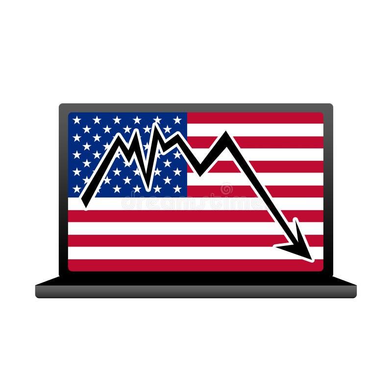 USA standard stock illustrationer