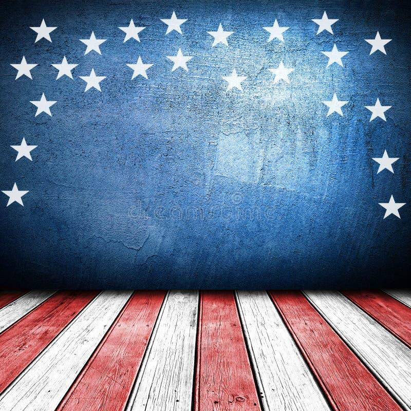 USA stylowy tło ilustracja wektor