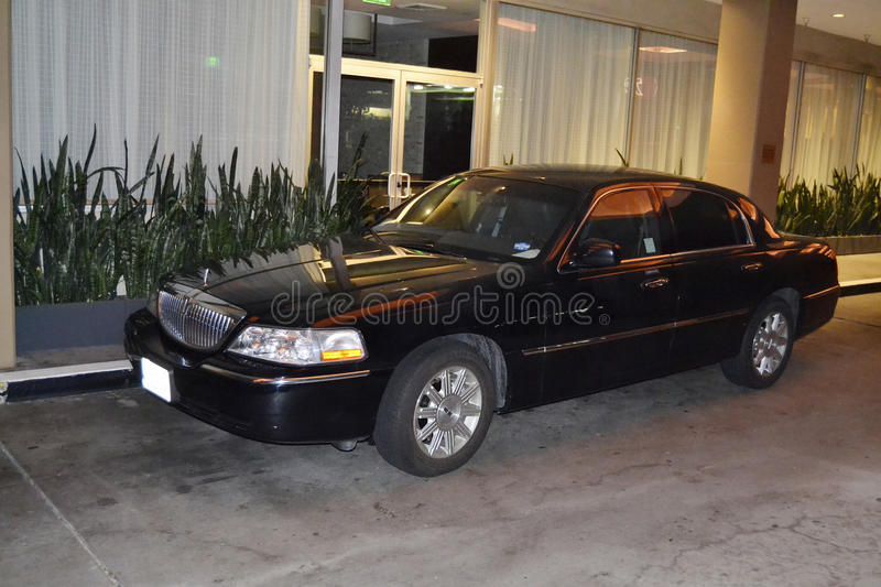 USA, town car. In Los Angeles stock image