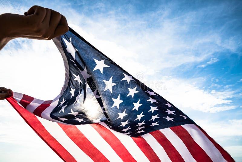 USA-Unabhängigkeitstag, am 4. Juli stockfotografie