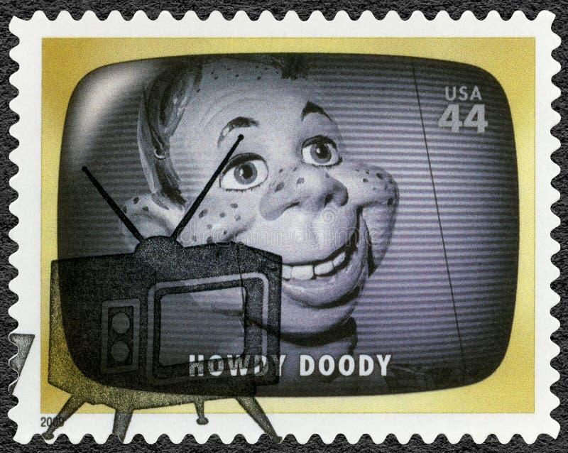 USA - 2009: visar Howdy Doody, barns televisionprogramet, tidigt TVminne royaltyfri fotografi