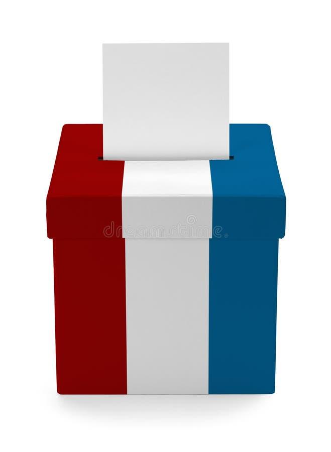 USA-Wahlurne stockfotografie