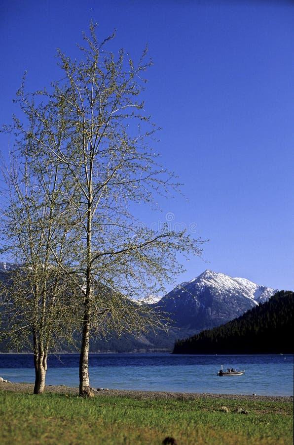 usa wallowa jezioro Oregon obrazy royalty free
