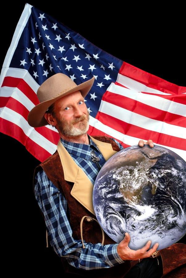 USA-Weltherrschaft lizenzfreie stockbilder