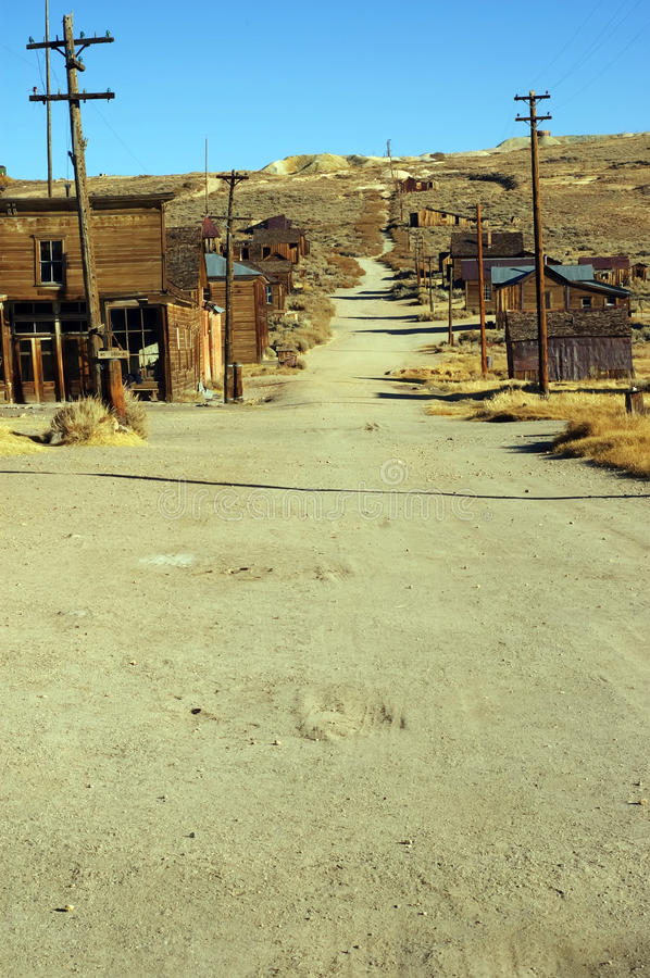 Free Usa Western Gold Ghost Mining Town Of Bodie Stock Image - 10302661