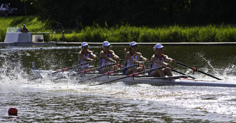 USA Woman S Quadruple Sculls Editorial Image
