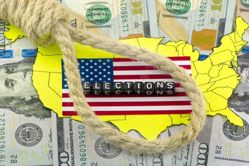 USA wybory ilustracji