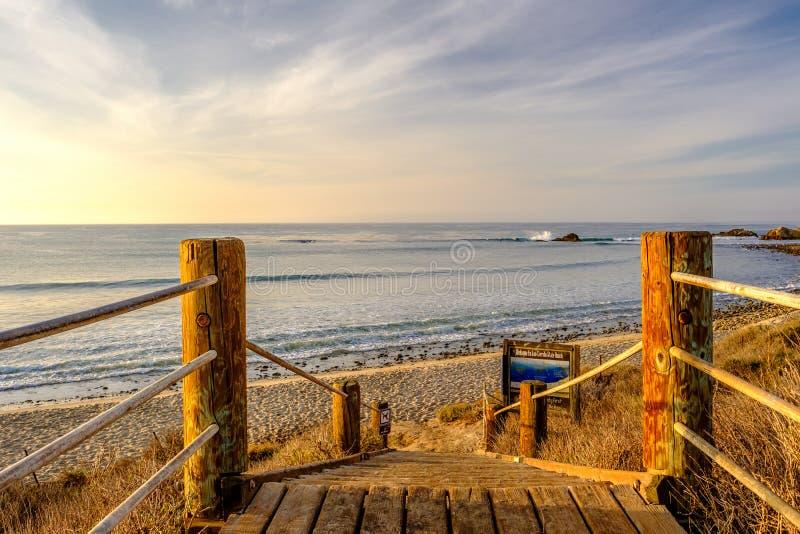 USA wybrzeże pacyfiku, Leo Carrillo stanu plaża, Kalifornia obrazy royalty free