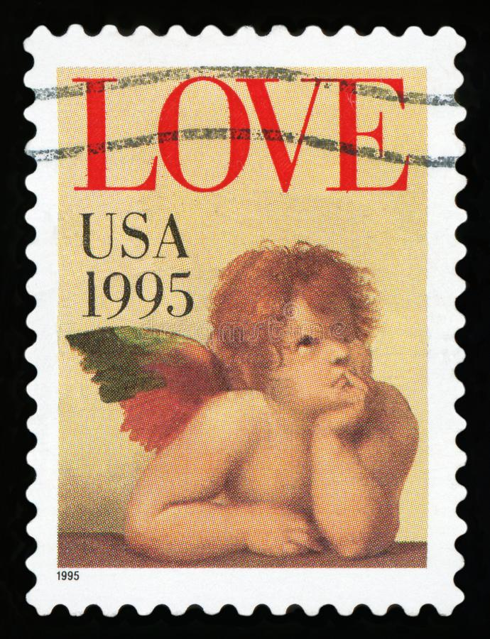 USA znaczek pocztowy zdjęcie stock