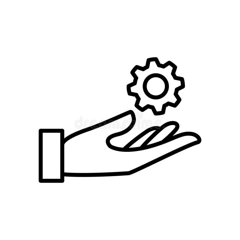 Usability icon, vector illustration. Vector illustration. on white background stock illustration
