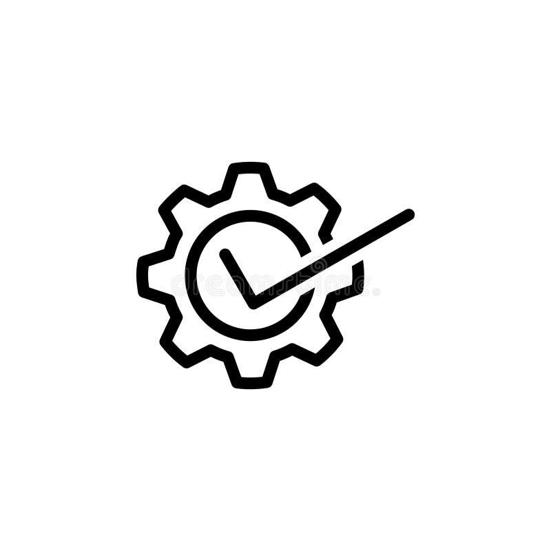 Usability icon, vector illustration. Vector illustration. on white background royalty free illustration