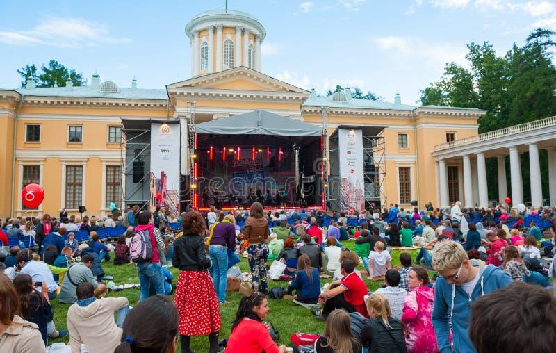 Usadba Jazz Festival immagine stock libera da diritti