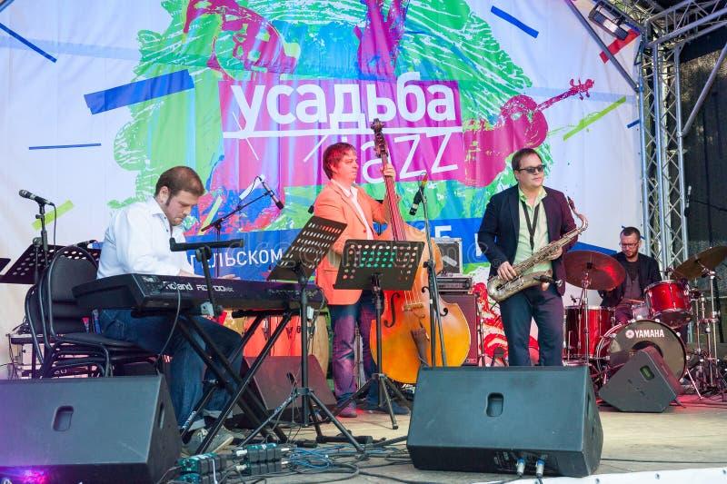 Usadba Jazz Festival royalty-vrije stock foto