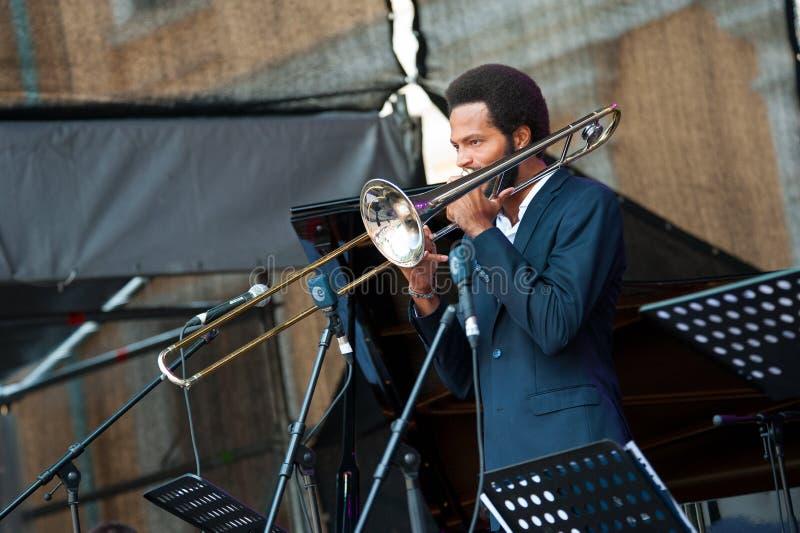 Usadba Jazz Festival stock afbeelding