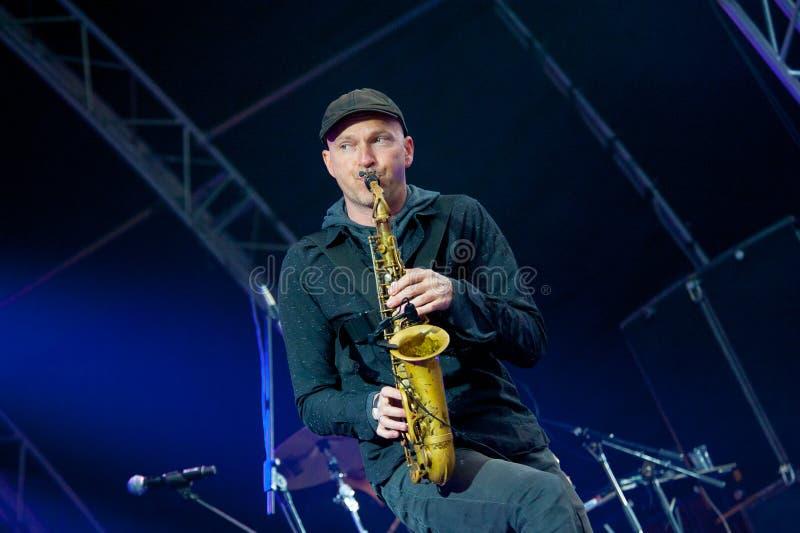 Usadba Jazz Festival Editorial Stock Photo