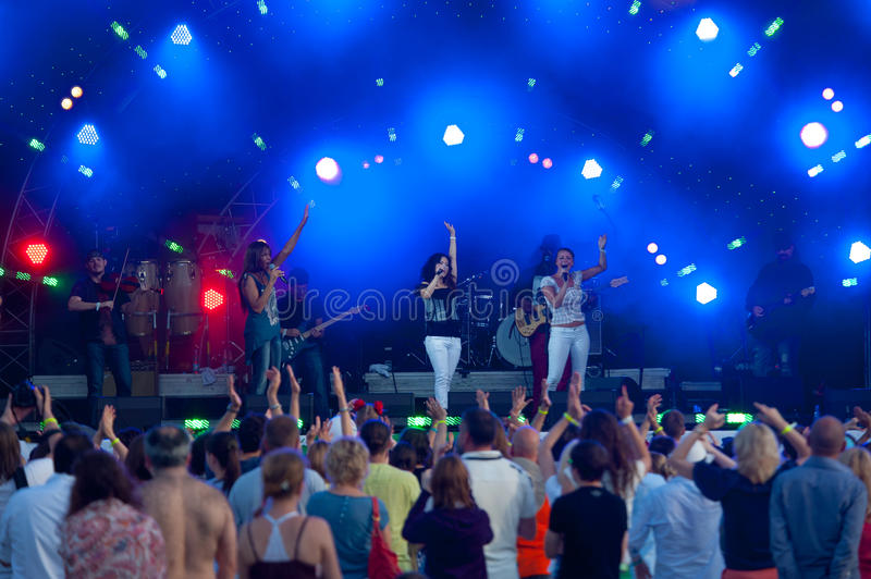 Download Usadba Jazz Festival editorial image. Image of air, live - 31744960