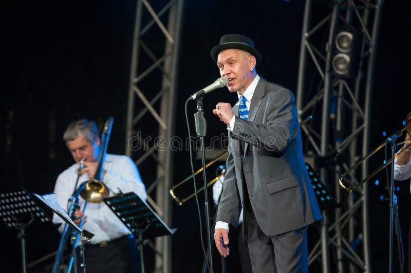Download Usadba Jazz Festival editorial stock image. Image of russia - 31744809
