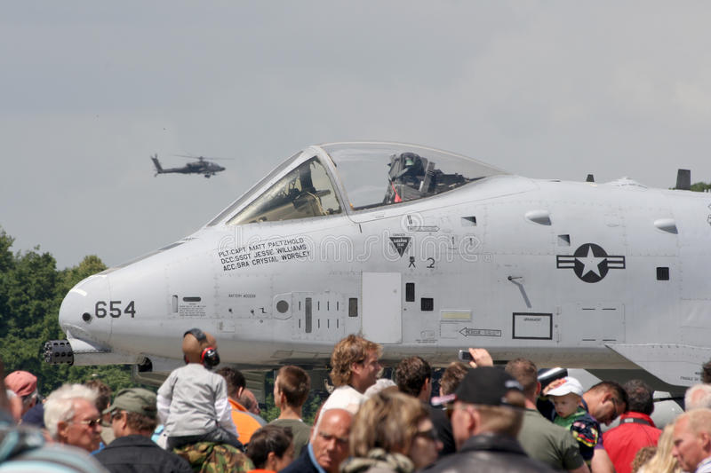 Download USAF A-10 Airshow editorial stock photo. Image of attack - 13237508