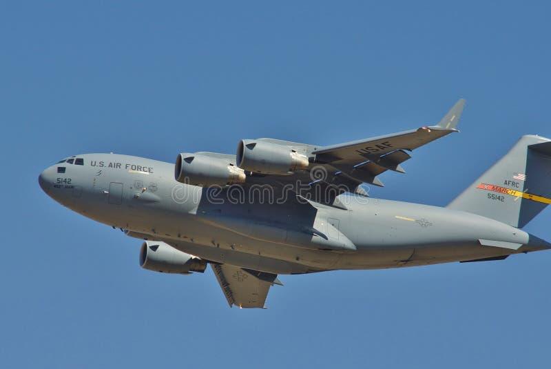 2013 10-8 05-5142 USAF C-17A стоковое фото rf