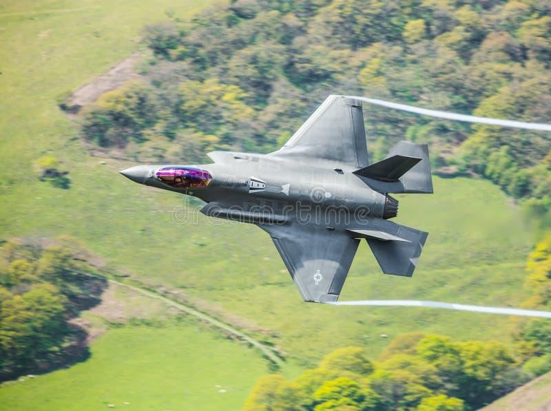 USAF F-35A Lightning II F35 royalty free stock photography