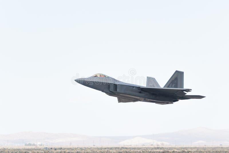 USAF Lockheed Martin φ-22 αρπακτικό πτηνό στοκ φωτογραφία